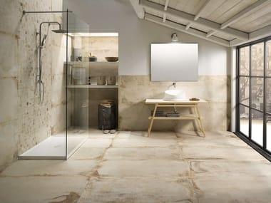 Pavimento/rivestimento in gres porcellanato effetto pietra LASCAUX ELLISON BATHROOM