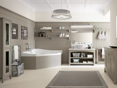 ENGLISH MOOD | Bathroom furniture set By Minacciolo