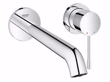 Miscelatore per lavabo a 2 fori a muro monocomando ESSENCE NEW | Miscelatore per lavabo a muro