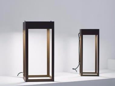 Lampadaire LED en acier inoxydable ETEREA | Lampadaire