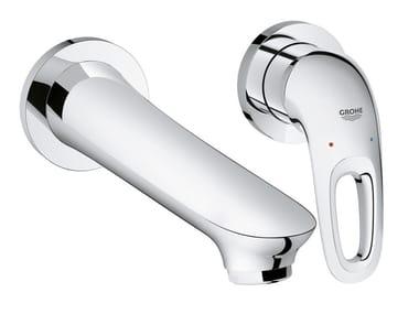 Miscelatore per lavabo a muro monocomando EUROSTYLE SIZE M | Miscelatore per lavabo a muro