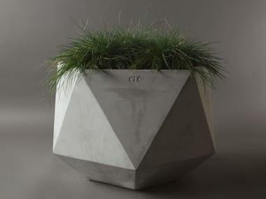 Fibre reinforced concrete planter FEMKANT | Cement planter