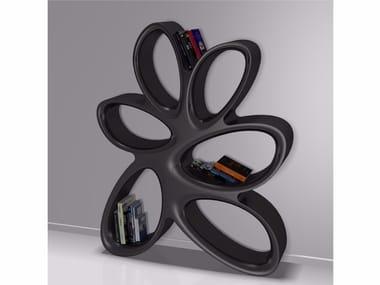 Libreria a giorno autoportante in Adamantx® FICODINDIA