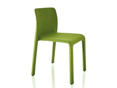 Fabric chair with removable cover FIRST | Fabric chair