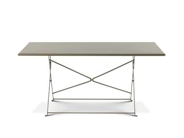 Folding garden table FLOWER | Dining table