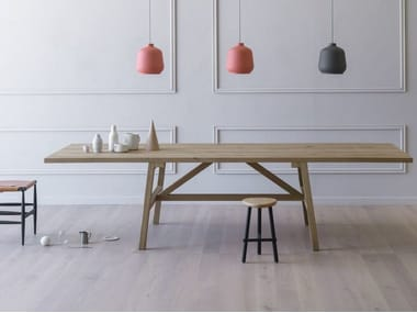 Table rectangulaire à manger FRATTINO
