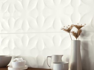 White-paste 3D Wall Cladding FREESTYLE