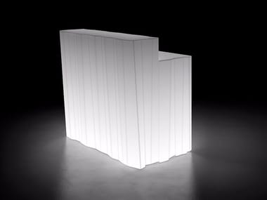 Bancone bar illuminato FROZEN DESK LIGHT