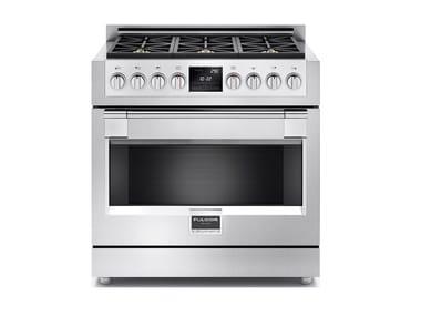 Cuisinière professionnelle en acier inoxydable FSRC 3606 P MG ED 2F X | Cuisinière