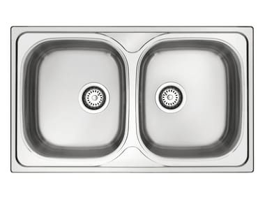 Single built-in stainless steel sink GL279X | Sink