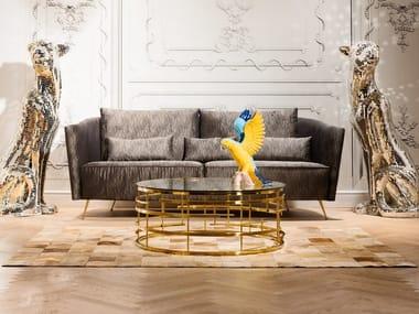 3 seater fabric sofa GLAMROCK | 3 seater sofa