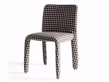 Chaise en tissu GLOVE-UP | Chaise