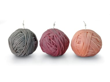"Set of 3 ""ball of yarn GOMITOLO 
