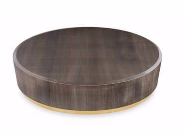 Tavolino rotondo in legno GONG