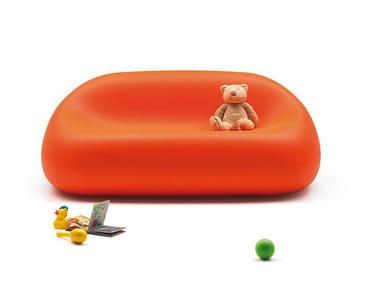 Canapé 3 places en polyéthylène pour enfants GUMBALL SOFA JUNIOR