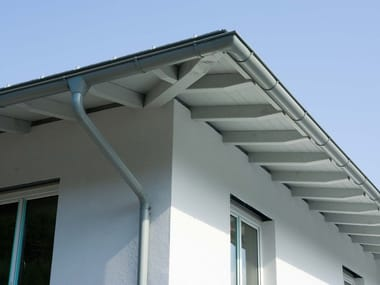 Aluminium Gutter and downpipe GUTTER