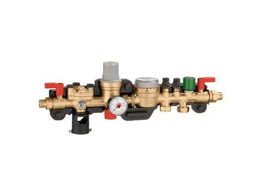 Special bathroom component and anti-flooding device Gruppo riempimento e demineralizzazione