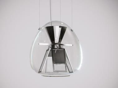 Suspension en verre soufflé pour éclairage direct HARRY H.