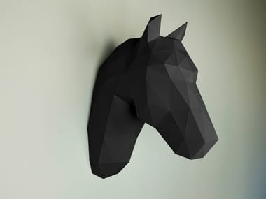 Paper wall decor item HORSE