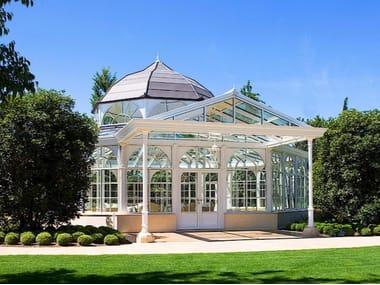 Jardín de invierno en aluminio y vidrio IMPERIAL & TOSCANA