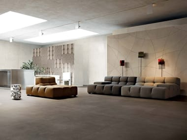 Indoor/outdoor porcelain stoneware flooring INDUSTRIAL