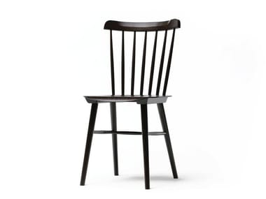 Wooden chair IRONICA