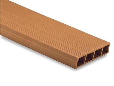 Rasilla y rasillón cerámicos Interlocking clay plank