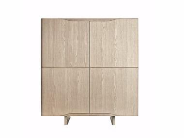 Multi-layer wood highboard JODAN | Highboard