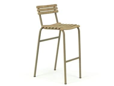 Cadeira para jardim com apoio de pés LAREN | Cadeira