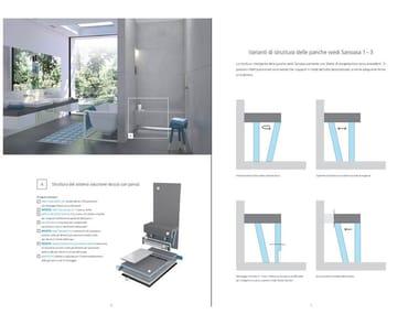 Modular spa bench LE NUOVE PANCHE SANOASA 1, 2 ,3