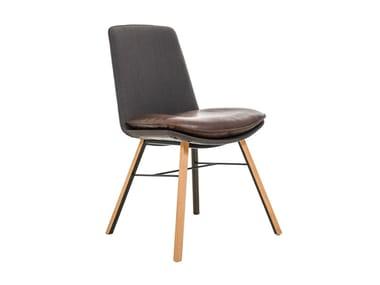 Gepolsterter Stuhl aus Stoff LHASA   Stuhl