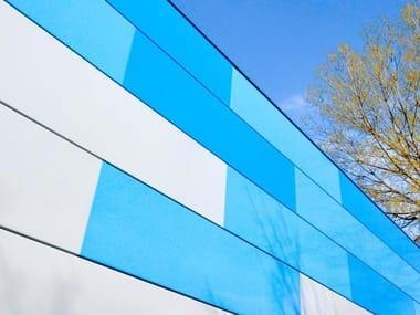 LINE UP | Panel para fachada de aluminio