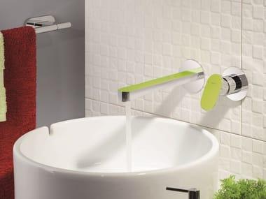 Miscelatore per lavabo a muro LINFA | Miscelatore per lavabo a muro