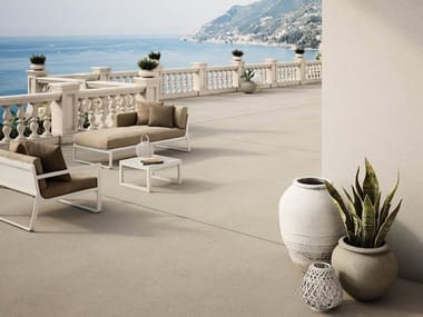 Indoor/outdoor Concrete and Cement-Based Materials flooring with concrete effect LIXIO®