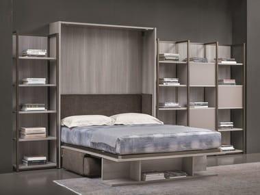 Mueble modular de pared con cama abatible LONDON BRIDGE