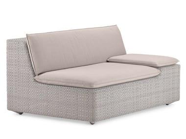Modular garden sofa LOU | Modular sofa