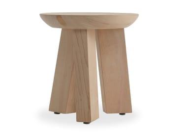 Banqueta de madeira maciça LUDO