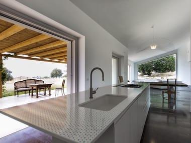 top cucina in pietra lavica   archiproducts - Top Cucina Pietra