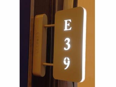 Luminaire de sécurité LED signalétique Led Door Sign