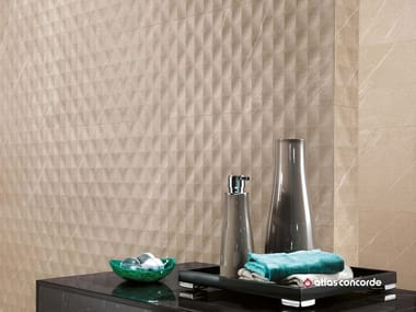 Porcelain stoneware 3D Wall Cladding MARVEL STONE WALL | 3D Wall Cladding