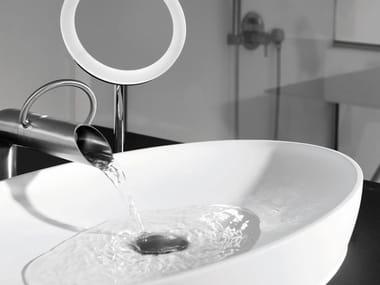 Countertop oval washbasin MAYA