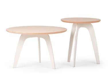 Tavolino basso da caffè in legno MILLEPIEDI | Tavolino