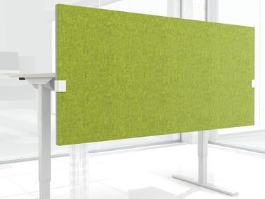 Pannello divisorio da scrivania fonoassorbente modulare in feltro MODUS | Pannello divisorio da scrivania