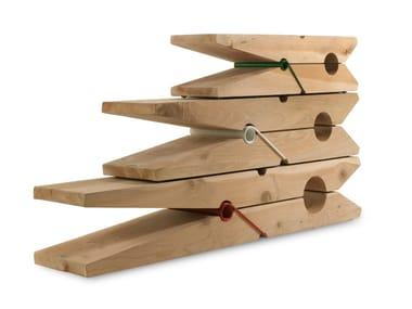 Cedar wood bench MOLLETTA