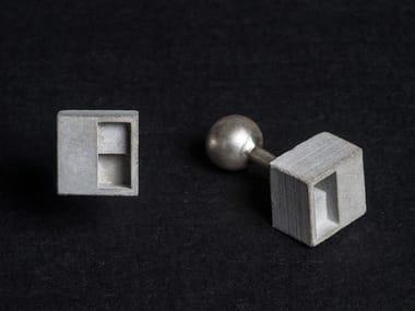 Micro Concrete Cufflinks #1