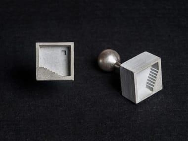 Gemelli in calcestruzzo Micro Concrete Cufflinks #3