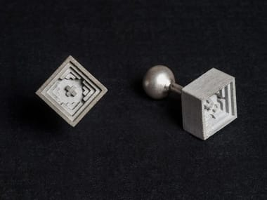 Concrete Cufflinks Micro Concrete Cufflinks #5