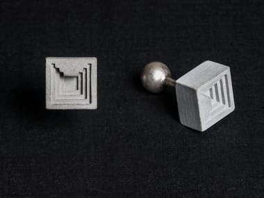 Concrete Cufflinks Micro Concrete Cufflinks #6