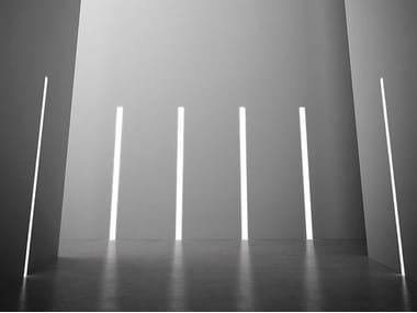 Profilo per illuminazione lineare da parete per moduli LED NOLITA TRIM