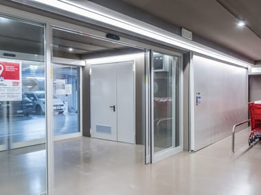 Fire door NOVOSLIDE